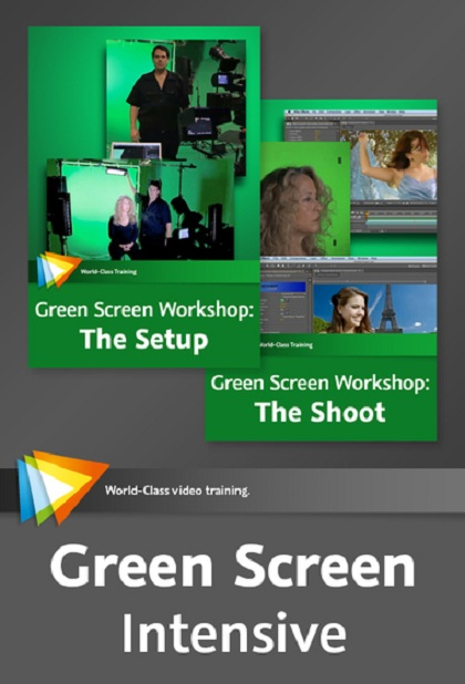 Video2Brain : Green Screen Intensive 2013