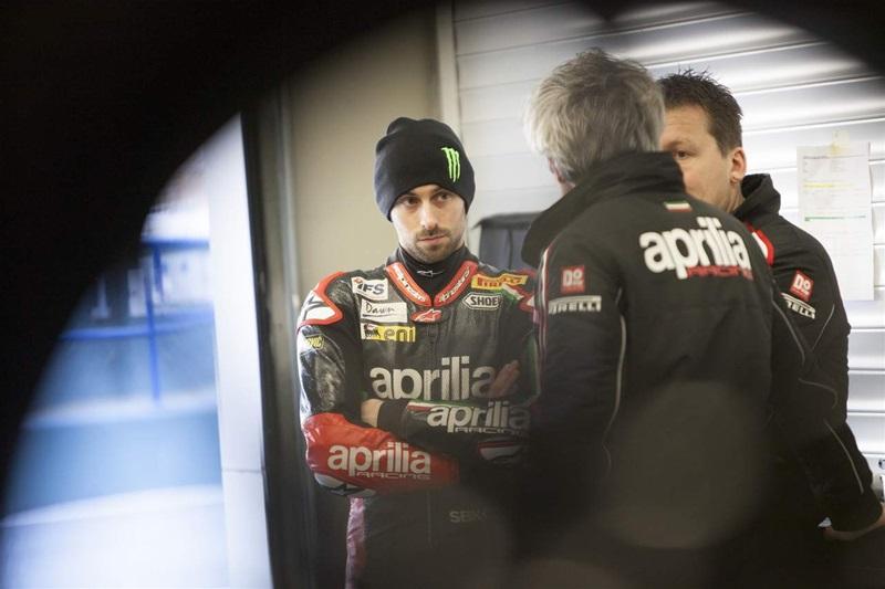 Команда Aprilia Racing 2013: Юджин Лаверти и Сильвен Гвинтоли