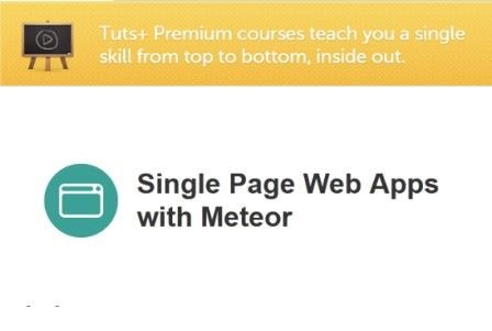 Tutsplus - Single Page Web Apps with Meteor