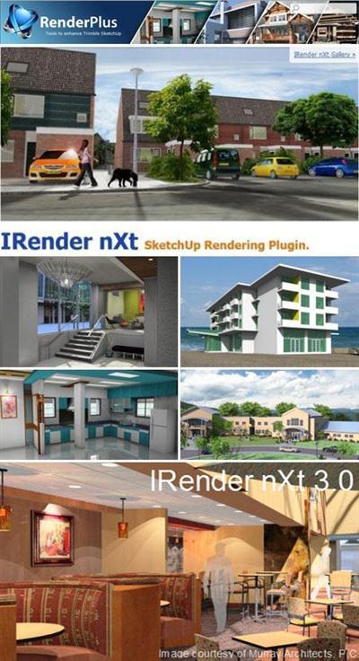 IRender nXt vMB18nxt 5.0 Plugin for SketchUp