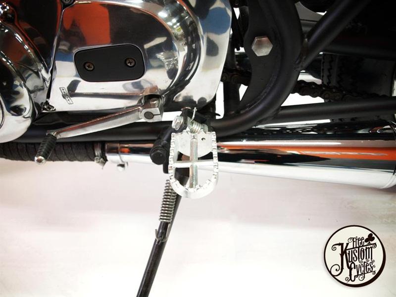 Кастом Kawasaki KZ400 - Free Kustom Cycles