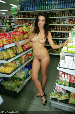 Фото голых продавщиц