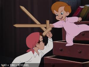 Питер Пэн (Дилогия) / Peter Pan (Dilogy) / 1953, 2002 / BDRip (1080p)