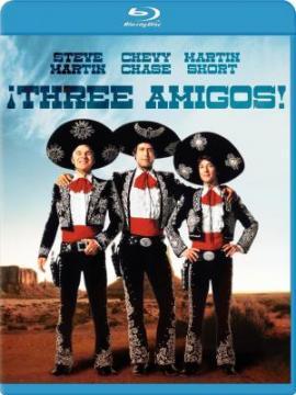 Три амигос! / Three Amigos! / 3 Amigos (1986) BDRip 720p