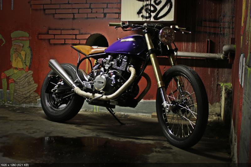 Кастом Honda CB450 Nighthawk 1982