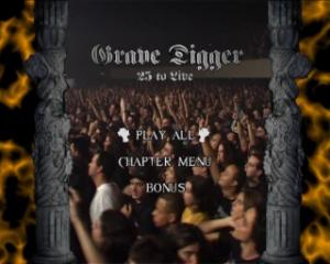 Grave Digger - 25 To Live (2005) DVD9