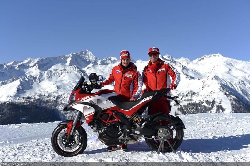 Новый мотоцикл Ducati Multistrada 1200 S Dolomites Peak Edition 2013