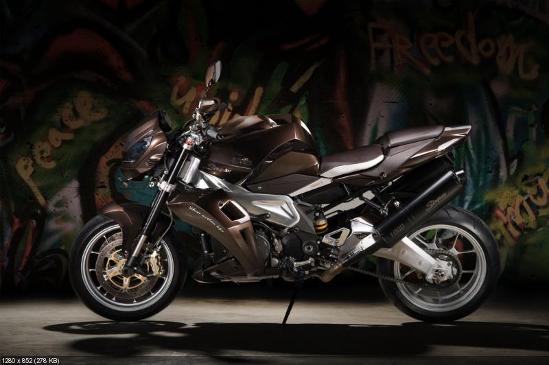 Тюнингованный мотоцикл Vilner Aprilia Stingray