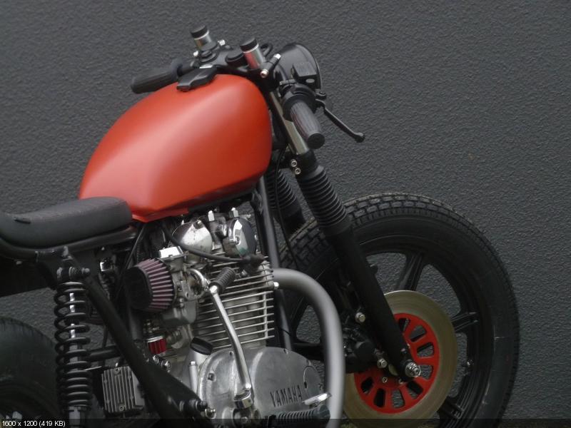 Кастом Yamaha XS650SE