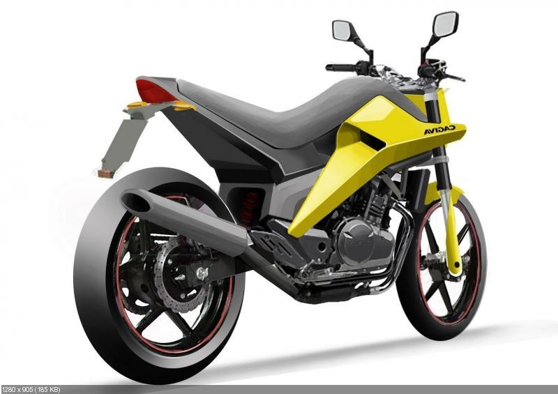 Концепт мотоцикла Cagiva Cycplops 250