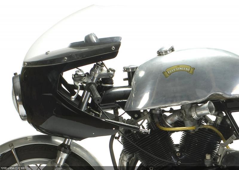 Гоночный мотоцикл  Egli-Vincent 1968