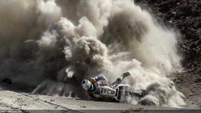Песчаная пыль на ралли Дакар (Fesh Fesh)