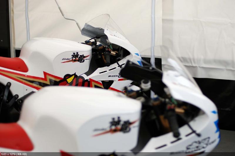 Команда Mugen представила новый электроцикл Shinden Ni