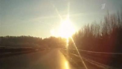 Чебаркульский метеорит. Луна через (2013) SATRip