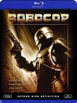 Робот-полицейский / Robocop (1987) Blu-ray disc (custom) 1080